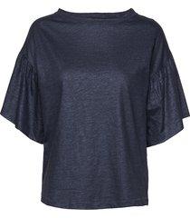 day again t-shirts & tops short-sleeved blå day birger et mikkelsen