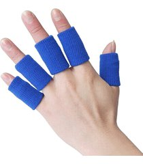 uomo donna sport dito stecca guardia fasciatura supporto antiscivolo finger stall elastico stalla traspirante