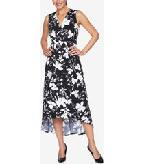ruby rd. plus size drs wildflower puff dress