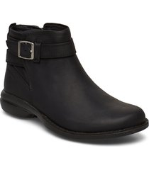 andover bluff wp black shoes boots ankle boots ankle boot - flat svart merrell