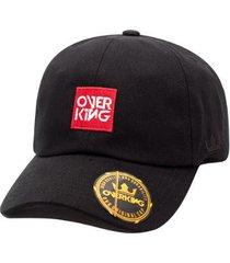 boné overking aba curva dad hat strapback square