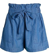 pull-on paperbag shorts