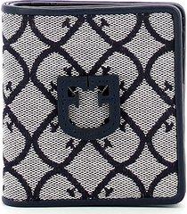 furla womens blue wallet