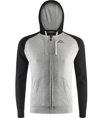 chaqueta para hombre logo jack slim kappa gris kappa