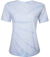 blusa le lis blanc tie dye ii malha algodão off white feminina (dusk, gg)