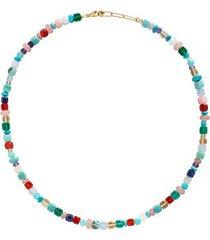 gold amulet freedom necklace freedom stones