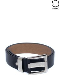 cinturon cuero aguijon ancho negro mailea