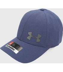gorra azul oscuro-negro under armour armourvent core 2.0