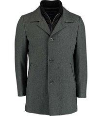 bos bright blue geke coat 20301ge01bo/940 grey