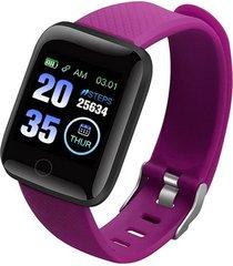 pantalla en color de 116 plus brazalete deportivo de frecuencia cardía
