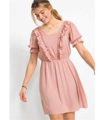 jurk met volants