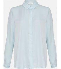moss copenhagen 14358 blair seasonal polysilk shirt