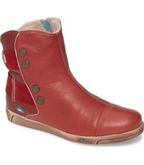 cloud aline bootie, size 7.5us in red leather at nordstrom