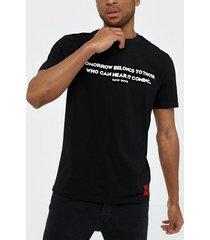 hugo domorrow t-shirts & linnen black