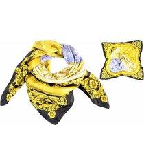 pañuelo dorado almacén de paris