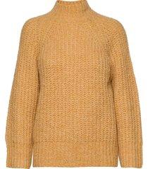 canis knit o-neck gebreide trui geel second female