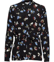 birta blouse lange mouwen zwart mbym