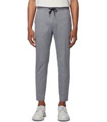 boss men's banks slim-fit trousers