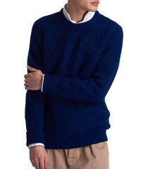 white label tynedale chunky-knit wool sweater