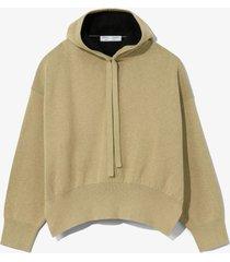 cashmere blend hoodie