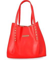 cartera roja para mujer addie cartera addie-rojo-un