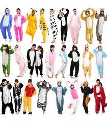hot fancy dress cosplay onesie1 adult unisex hooded pyjamas animal sleepwear