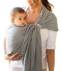 moby wrap ring sling baby carrier