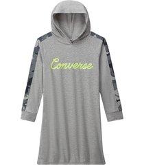 camo hoodie dress
