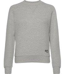 traa crew sweat-shirt tröja grå kari traa