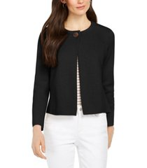 charter club petite one-button cardigan sweater, created for macy's