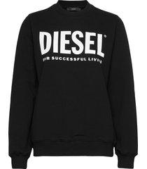 f-ang sweat-shirt sweat-shirt trui zwart diesel women