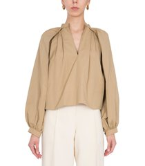 jil sander shirt with wide sleeves