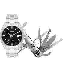 relógio orient masculino mbss1312 kw86p1sx