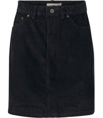 kjol vmkarina hr a-shape cord short skirt