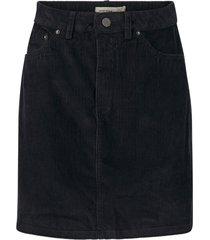 kjol vmkarina hr a-shape cord short skirt