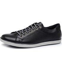 sapatênis calçar bem preto