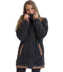 abrigo chiporro negro froens