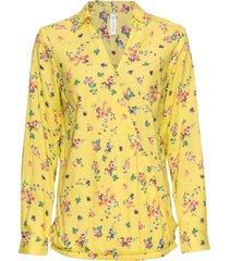 camicetta incrociata (giallo) - rainbow