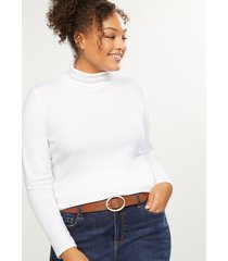 lane bryant women's reversible round-buckle belt 22/24 brown