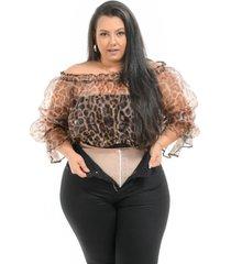calã§a jeans feminina skinny modeladora super lipo plus size preta com cinta - preto - feminino - dafiti