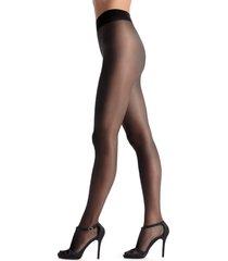 men's oroblu pearl 15 tights, size large - black