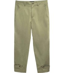 cotton popeline chino pant for man