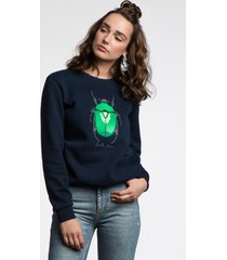 bluza the beetle navy