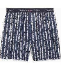tommy hilfiger men's cotton classics boxer indigo - m