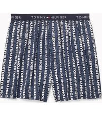 tommy hilfiger men's cotton classics boxer indigo - xl