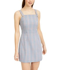 be bop juniors' plaid jumper dress