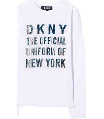 dkny white sweatshirt