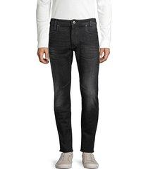 g-star raw men's slim-fit jeans - black - size 30 32