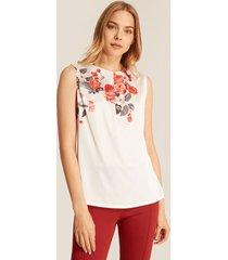 camiseta floral-l