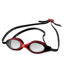 óculos de natação speedo flik preto e vermelho